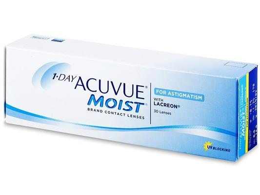 1 DAY Acuvue Moist for Astigmatism - 30 lenti